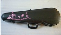 black new 4/4 violin carbon fiber case large advanced
