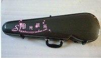 black new 4/4 violin carbon fiber case large advanced
