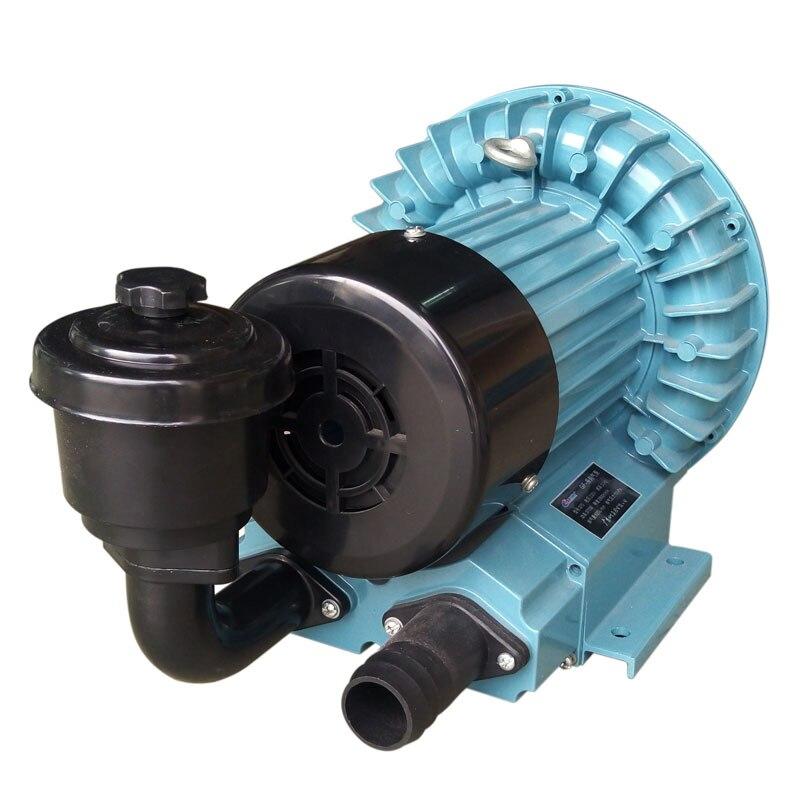RESUN GF-370 blower exhaust large vortex type jet fish pond oxygen Turbine pump