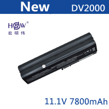 7800mAH laptop battery for HP Pavilion DV2000 DV2100 DV2200 DV2700 DV2800 DV2900 DV6000 DV6300 DV6700 HSTNN-DB42 HSTNN-LB42