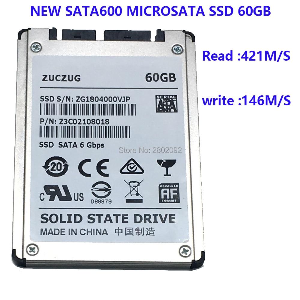 NEW 60GB SSD 1 8 MicroSATA FOR HP 2740p 2730p 2530p 2540p IBM x300 x301 T400S