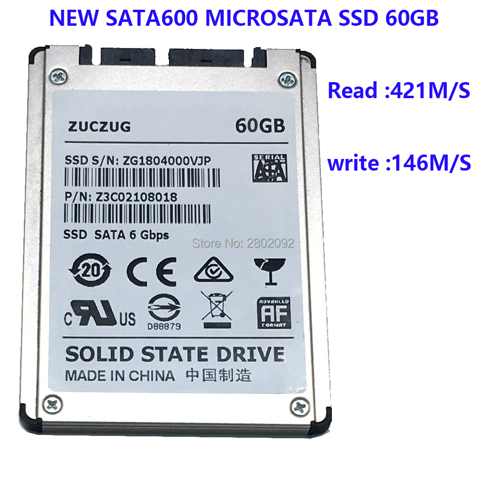 NEW 60GB SSD 1.8 MicroSATA FOR HP 2740p 2730p 2530p 2540p IBM x300 x301 T400S T410S REPLACE MK1633GSG MK2529GSG MK1233GSG new a 12 1 for hp elitebook 2540p 2740p 2730p laptop lcd screen display pannel wxga 1280 800 ltn121at08 b121ew09