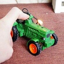 Американский Трактор модели украшения с зажигалкой зажигалка подарок водителя, ремесло подарок. Декоративные металлические зажигалки