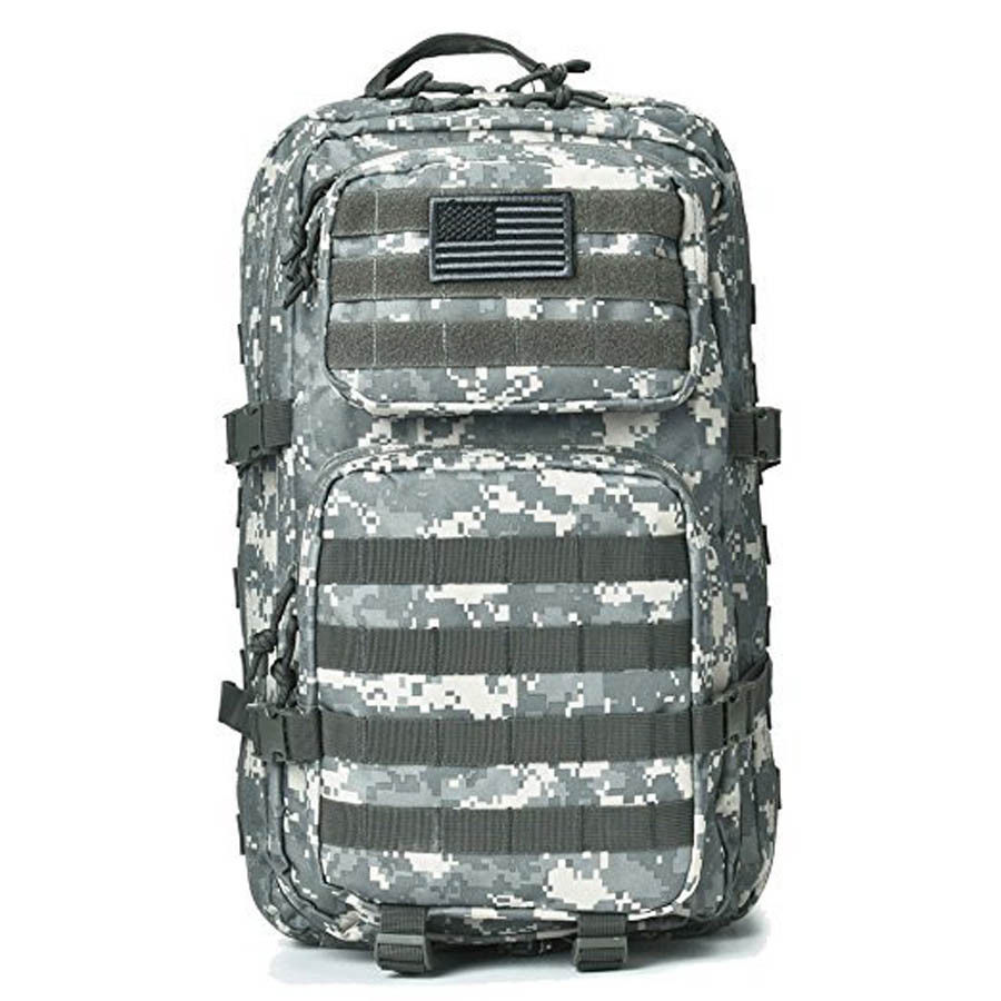 Hunting Camping Military Camouflage Tactical Backpack Large Assault Pack Army Molle Bug Hunting 50L