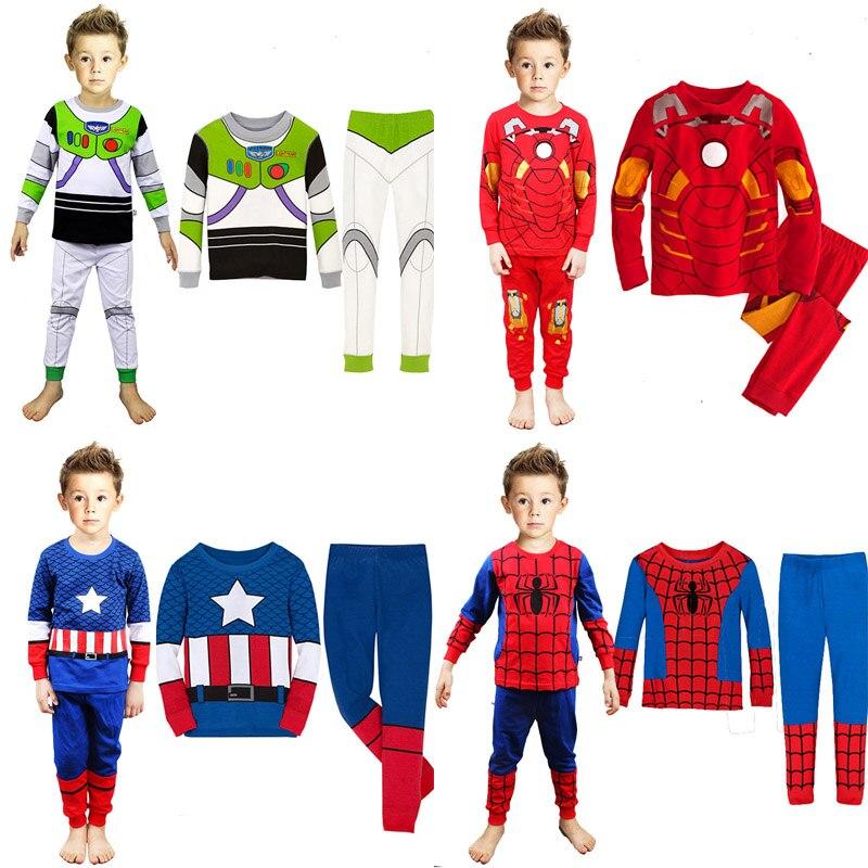 f178041e7b children clothes kids pajamas child toy story pyjamas baby girls pyjamas  boys captain america spiderman hulk pijamas sleepwear