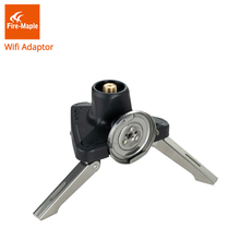 лучшая цена Fire Maple Outdoor Gas Adapter For Long Butane Gas Canister Cartridge Camping Tripod Gas Stove Adaptor