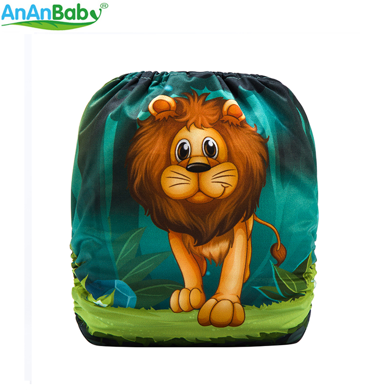 {AnAnBaby} New Design Reusable One Size Most Digital Position Prints Baby Nappies padded wrist guard one size fits most