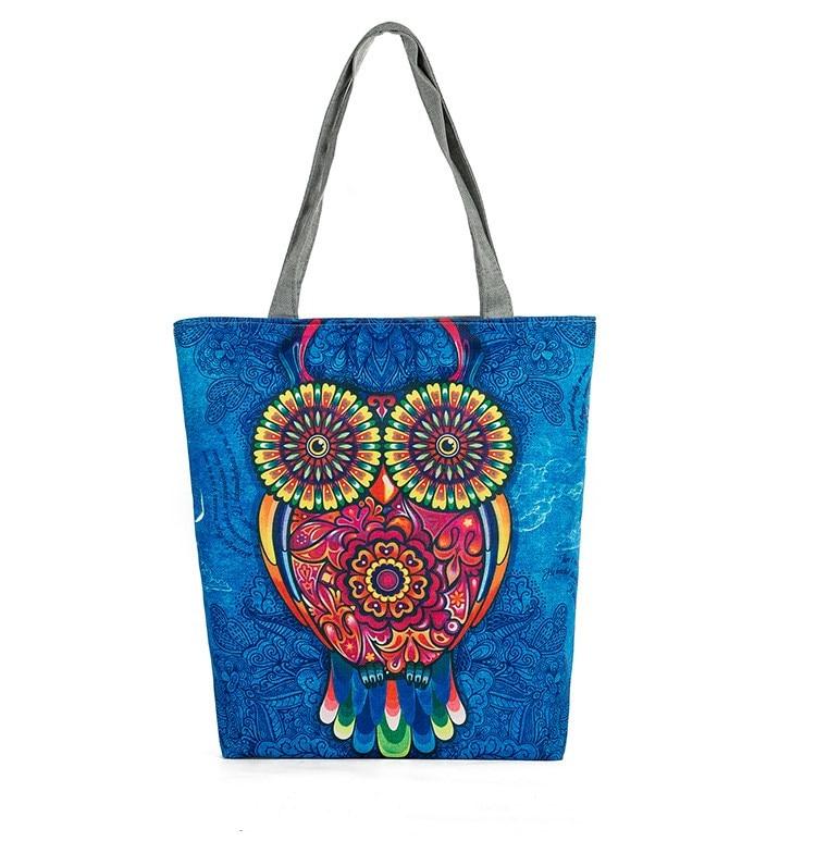 Vrouwelijke handtas uiltas Goede kwaliteit Canvas portemonnees en - Handtassen - Foto 6