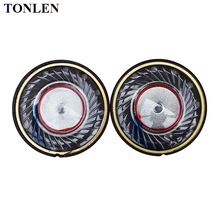 TONLEN 2PCS 30mm Headphone Speaker Headset Horn 50mW 32 ohm HIFI DIY Accessories Upgrade replacement speaker
