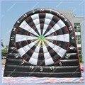NOVA 18ft Inflável Footall Dardos, jogo de Dardos de Futebol Inflável Gigante, bomba de Pé inflável Dardos, 2 Lados Dardos Alta Qualidade