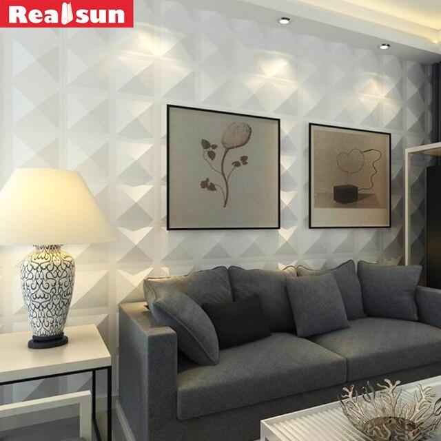 Wall Panel 3D Waterproof Room Decor Wallpaper Home Decoration Accessories Art Stickers 50cm50cm