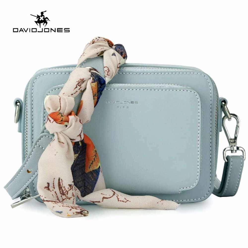 1a41874a667e2 Detail Feedback Questions about DAVIDJONES women handbag pu leather female  messenger bags small lady scarve crossbody bag girl brand shoulder bag drop  ...