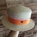 Fine linen, flat-topped short eaves flat along the eaves little hat summer beach hat is prevented bask in straw hats