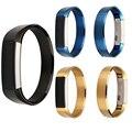 De alta Calidad de la Marca de 7 Colores de Metal 316 de Acero Inoxidable Venda de Reloj de la Correa de Repuesto Para Fitbit Alta Brazalete Rastreador