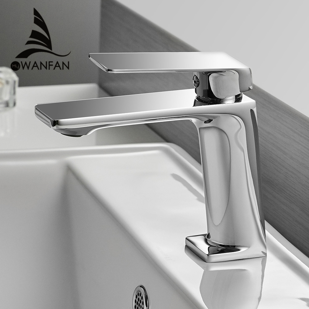 Basin Faucet Bathroom Torneira Para Banheiro Chrome Faucet Basin Taps Deck Mounted Grifo Lavabo Hot Cold Mixer Tap Crane 9922L
