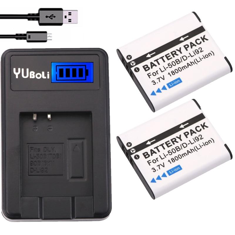 Olympus pen e-p3 dual 2 cargador doble F Battery batería 1100mah bls-5 bls-50