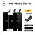 10pcs/lot Best AAA Quality Replacement Pantalla LCD For iPhone 5S iPhone 5 iphone 5c LCD Screen Display Digitizer Assembly