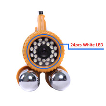 600TVL CCD Fishing Camera Underwater Video Camera Fish Finder 24pcs White LED Lights Nightvision 30M Cable Fishing Finder