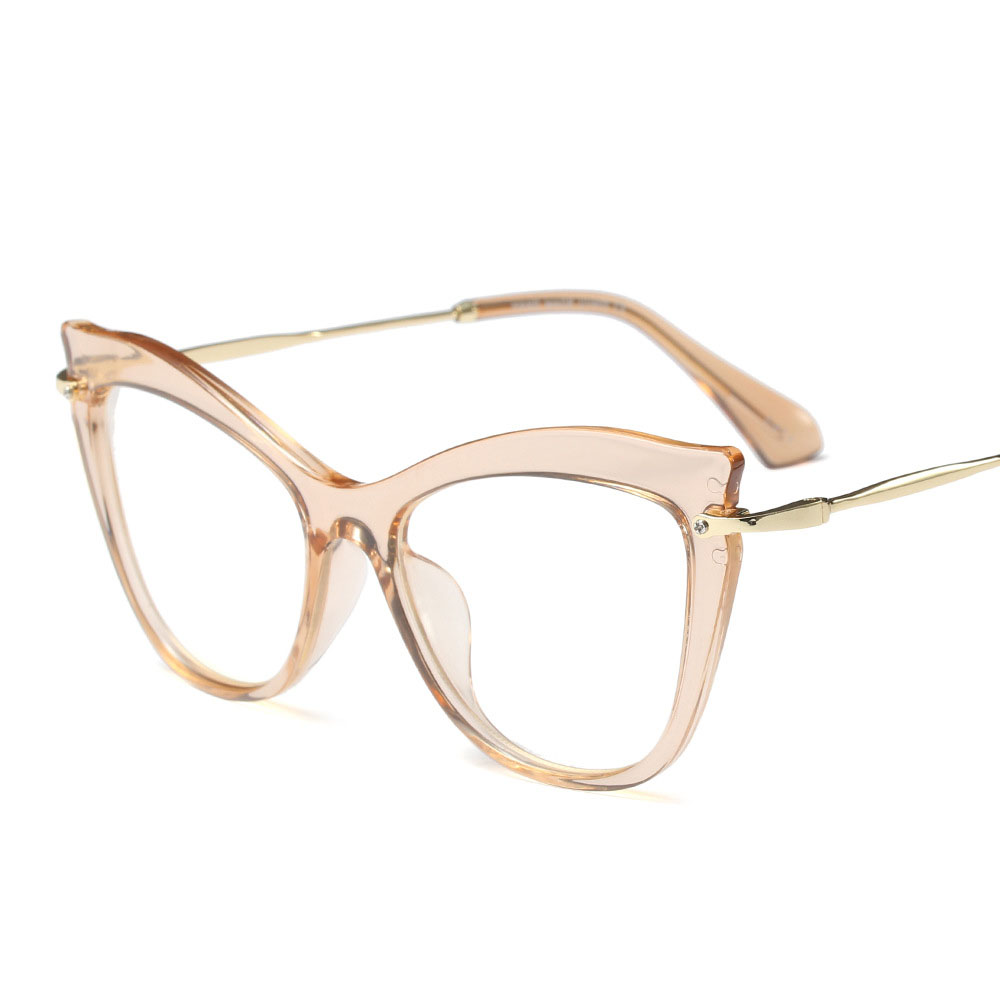 2018 New Black Gafas de sol mujer Retro Stylish Glasses Frame Female ...