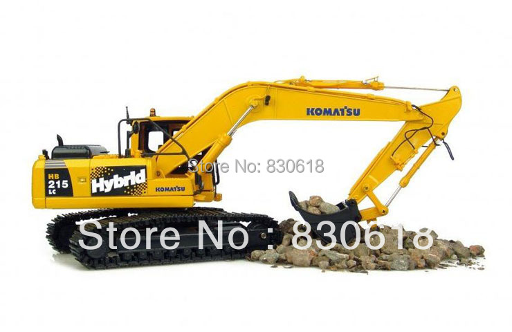 1:50 scale UH8081 Komatsu HB215 Hybird Excavator metal Model Construction vehicles toy куплю запчастей б у к komatsu