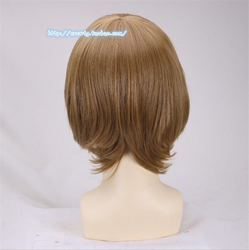 Image 4 - 1pcs Ron Weasley Cosplay Brown Wig Comic Con Cosplay Hair Ronald Bilius Role Play Costumes Wigs + Wig Cap-in Movie & TV costumes from Novelty & Special Use
