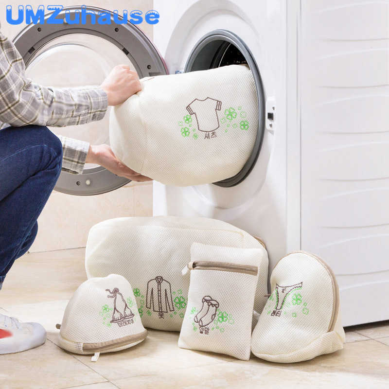 Laundry Bag Lingerie Net Filter Underwear Bra Shoe Socks Clothes Clothing Storage For Washing Machines Protect Home Organization