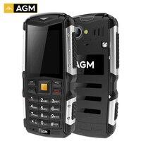 AGM M1 트라이-증거 3 그램 바 핸드폰 2.0 인치 IP68 방수 블루투스 2.0MP 후면 카메라 2570 미리암페르하우어 배터리