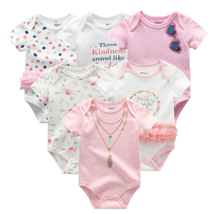 Image 3 - Pasgeboren baby Kleding Sets 100% Katoen Zomer baby rompertjes Korte mouw Bodysuit Babykleertjes Ropa bebe Baby Boy Kleding