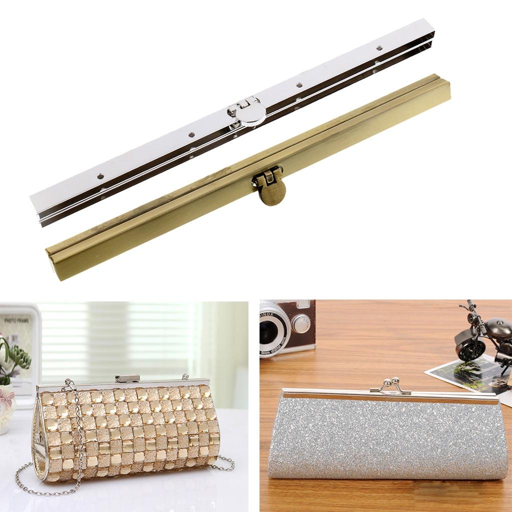 Metal Bag Purse Frame Lock for Handbag Evening Bag Clutch Bag Purse Making 19cm