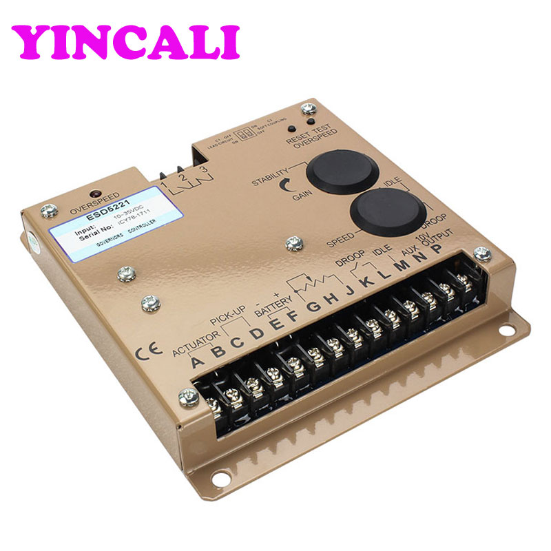 High Quality Speed Controller ESD5221 Generator Automatic Governor Speed Control Module Electronic Speed Governor speed control esd5550e generator diesel governor page 8