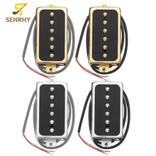 SENRHY Electric Guitar Neck/Bridge Pickup Humbucker High Output Stringed Instruments Parts Fits for Single Coil Humbucker Guitar