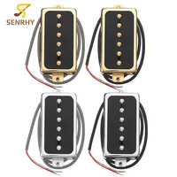 SENRHY Electric Guitar Neck Bridge Pickup Humbucker High Output Stringed Instruments Parts Fits For Single Coil