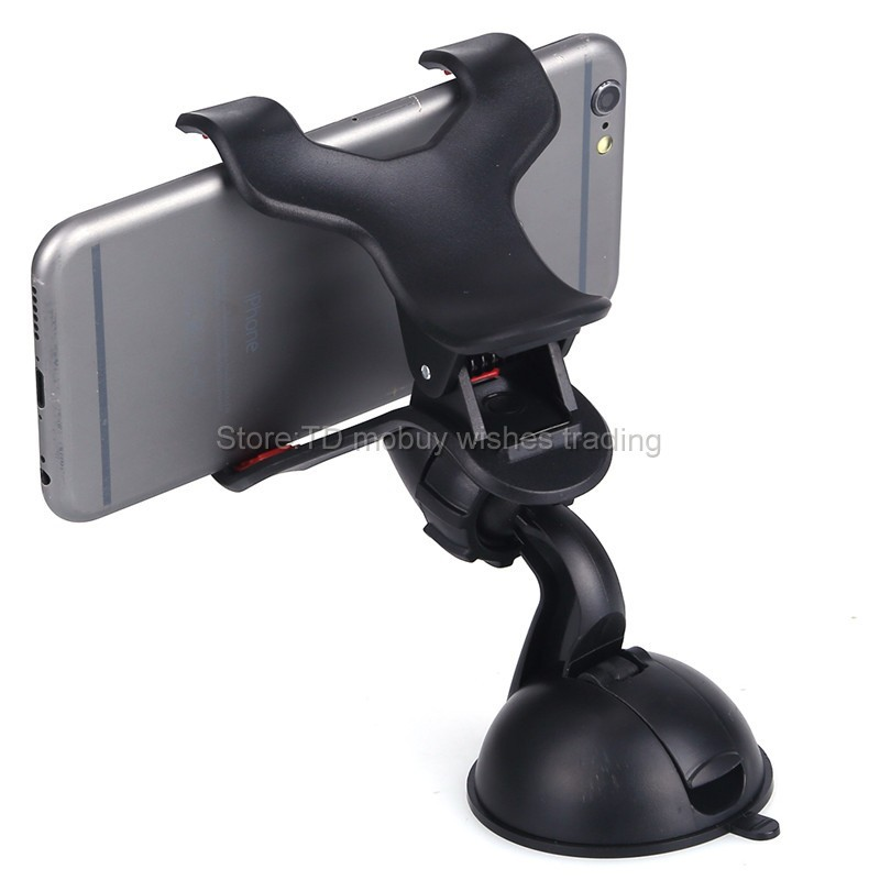 360-Degrees-Car-Auto-Windshield-Dual-Clip-Mount-Holder-Stand-Bracket-For-iPhone4S-5S-5C-6