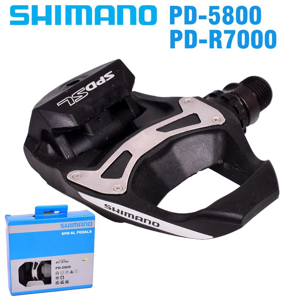 シマノ 105 PD5800 R7000 自己ロック SPD ペダル SH11 クリート自転車レーシングロードバイクアクセサリー SPD ペダル  グループ上の スポーツ & エンターテイメント からの 自転車のペダル の中 1
