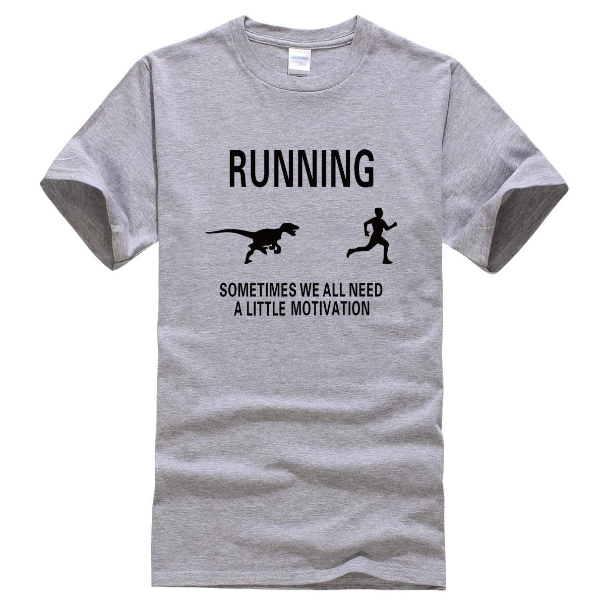 2017 summer men's T-shirts motivation print shirt funny T-shirt brand clothing motivate runners sportwear t shirt harajuku tops