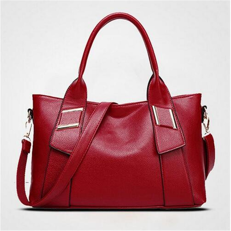 2018 Women Leather Handbags Famous Brand Women Shoulder Bags Big Women Messenger Bag Fashion Women Messenger Bags Female Tote seven skin brand women oil wax leather shoulder bags vintage designer handbags female big tote bag women s messenger bags 2017
