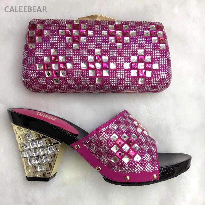 fucsia zapato y bolso para hacer juego para fiestas zapatos de tacn alto y bolso a juego italiano juegos de decorar con cristal