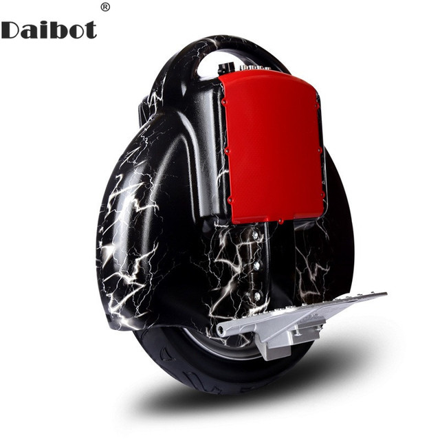 Daibot Electric Monowheel One Wheel Self Balancing Scooters Portable 14 inch 60V 350W Electric Scooter With Bluetooth Speaker