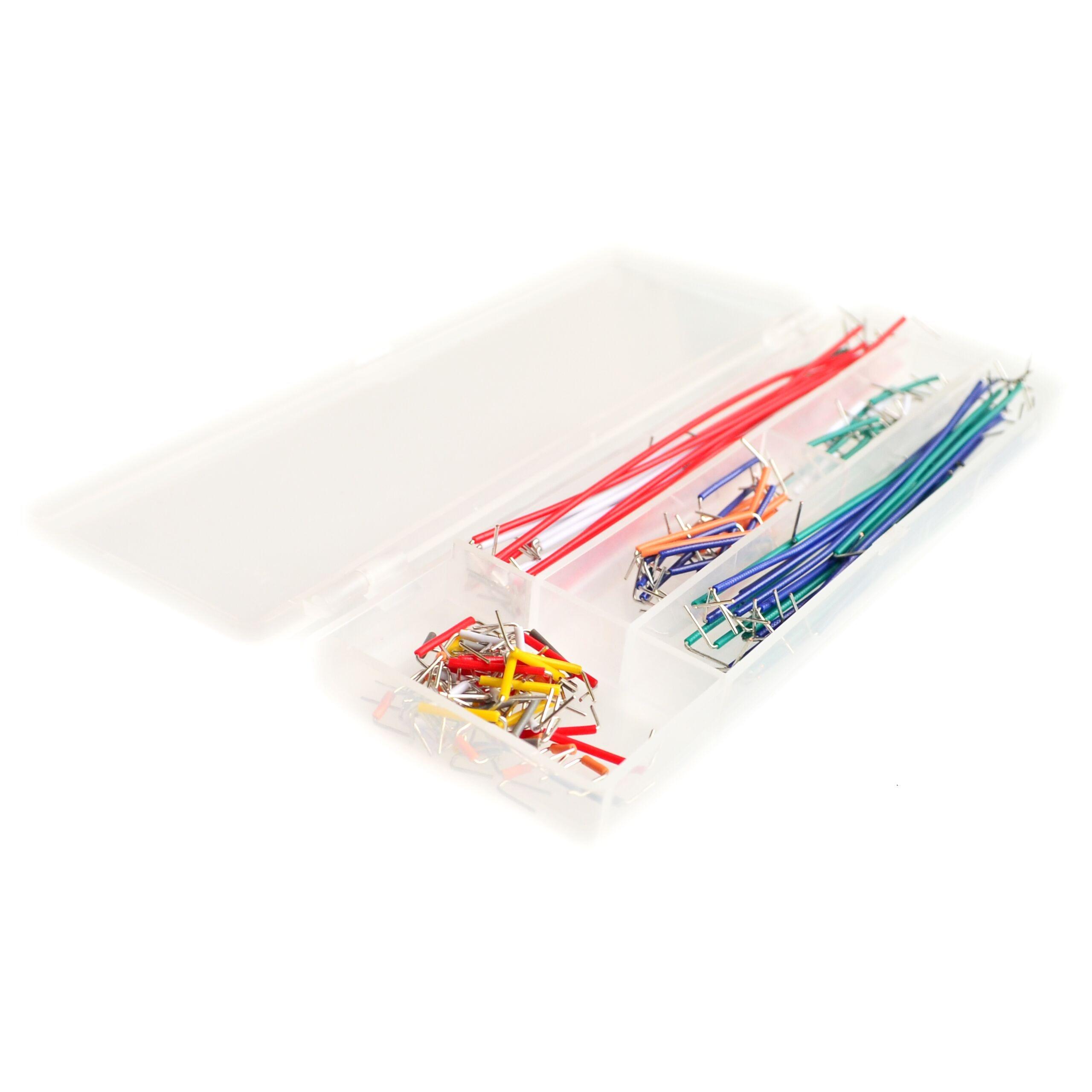 5Pcs/lot 140 pcs U Shape Solderless Breadboard Jumper Cable Wire Kit For Arduino Shield For raspberry pi