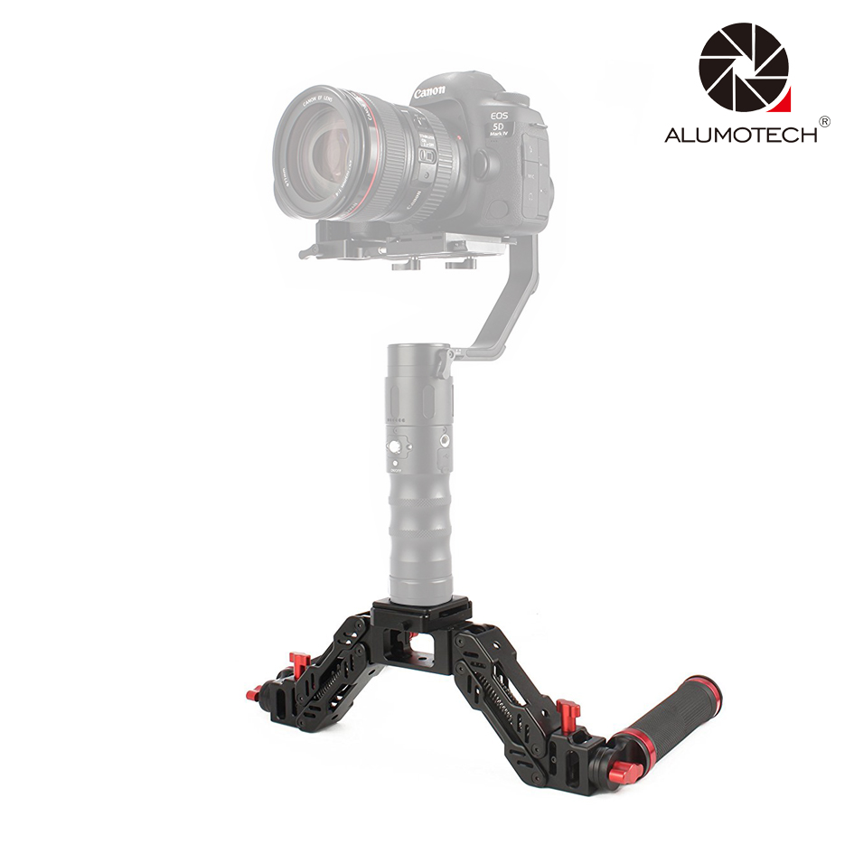 Beholder Stabilizer Z-axis Spring Arm 7.15kg Handle F MS1/MSPRO/DS1/DS2/EC1/DS2A beholder d2 carbon fiber dual handle grip with arch rectangular plate and pergear magic stickers for beholder ds1 ms1 stabilizer