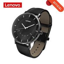 Lenovo akıllı izle moda kuvars saatler izle S akıllı hatırlatma 50M su geçirmez uzun pil ömrü spor Smartwatch