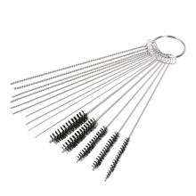 2018 Hot Car Motorcycle 10x Cleaning Needles+5x Brushes Carburetor Carbon Dirt Jet Remove Tool Kit