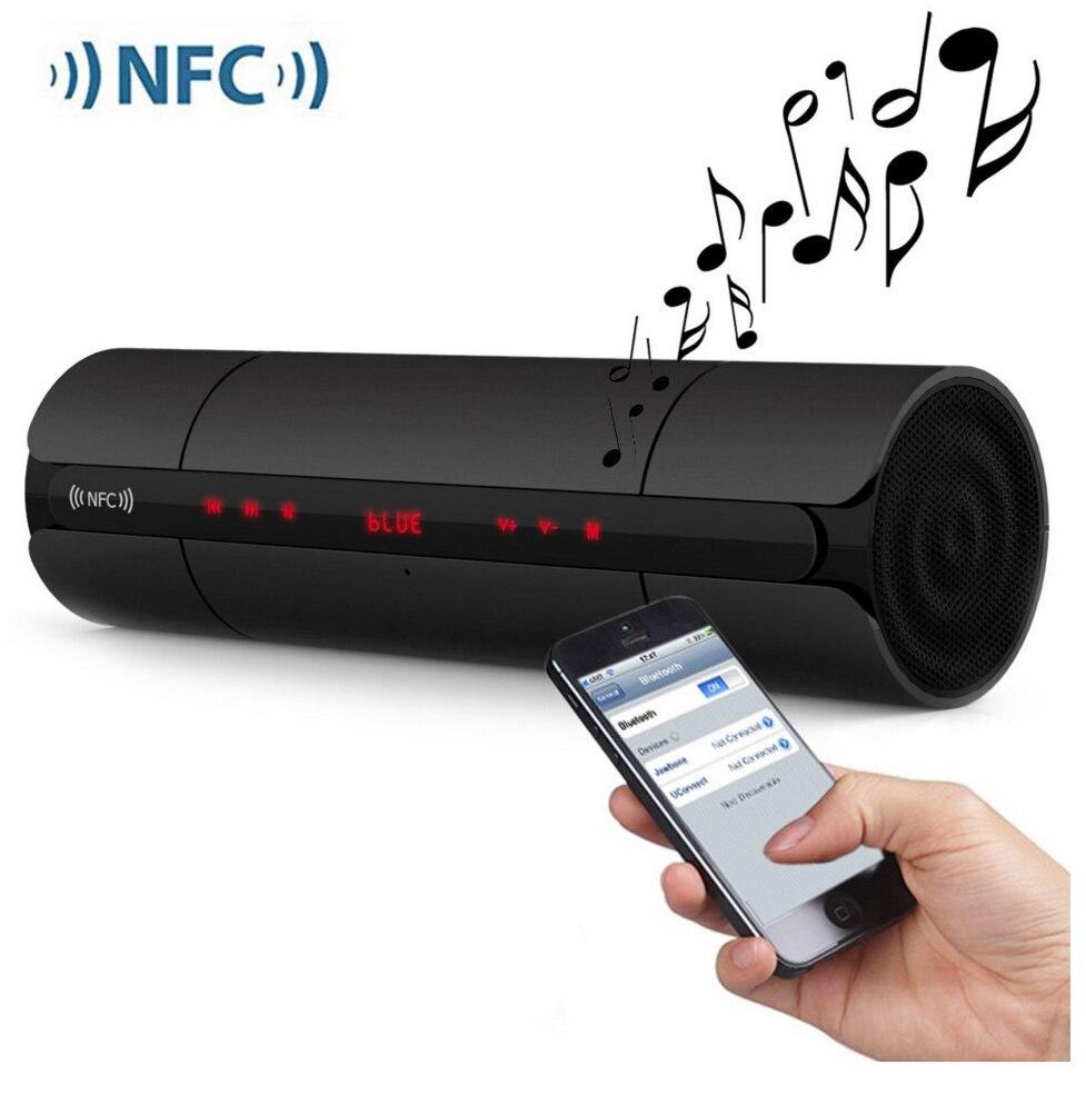 Portable KR8800 <font><b>NFC</b></font> FM <font><b>HIFI</b></font> <font><b>Bluetooth</b></font> Speaker Wireless Stereo Loud Super Bass Sound Box Hand Free for Phone Android smart phone