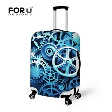 6 Style Travel Suitcase Cover Waterproof Dustproof Luggage Trolley Case Protective Cover to 18/20/22/24/26/28/30 inch Trunk Case