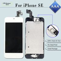 Full Assembly Replacement For IPhone SE A1723 A1662 LCD Screen Module Touch Digitizer Display Home Button