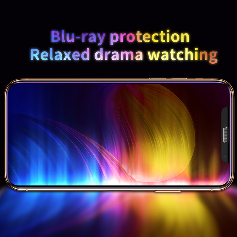 Image 4 - Baseus 3D Screen Protector For iPhone XR 0.3mm Ultra Thin Protective Glass For iPhone Xs X Xs Max 7 8 Tempered Glass Front Film-in Phone Screen Protectors from Cellphones & Telecommunications