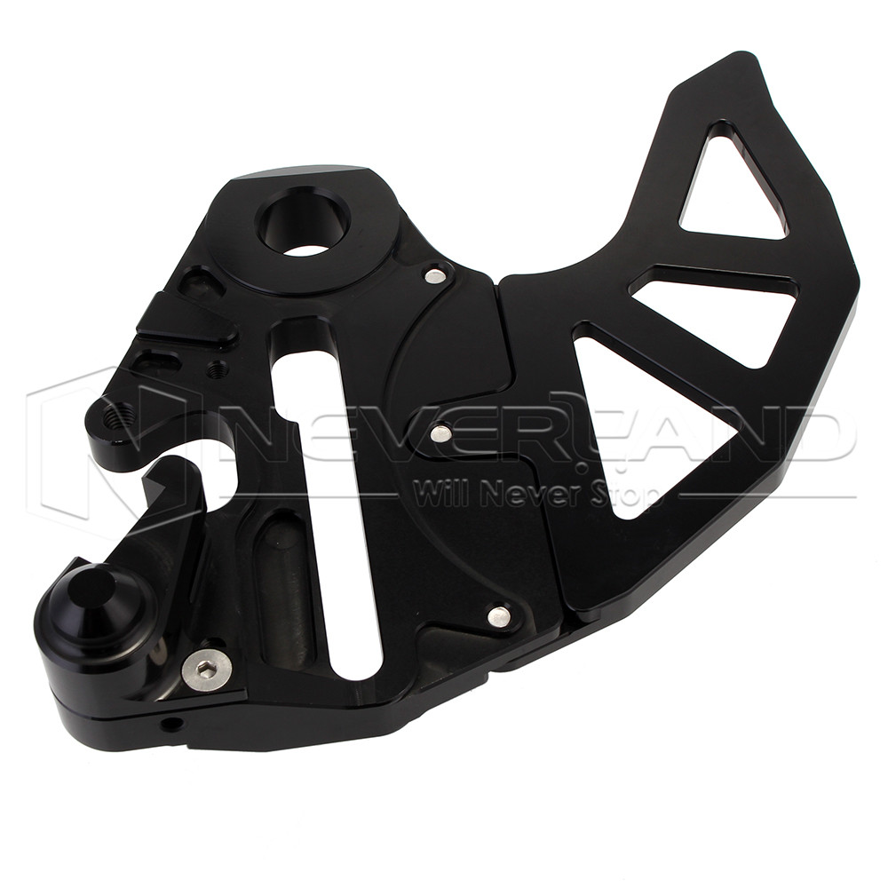 CNC Motorcycle Billet Rear Brake Disc Guard For KTM 125-530 EXC/EXC-F/XC-W/XCF-W 04-15 for Husaberg TE 125/250/300 2011-2014 D25