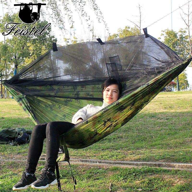 mesa para camping parachute hammock