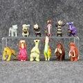 12 pçs/lote Ice Age 5 Figura de Ação Brinquedos 3-6 cm PVC Figura Modelo Boneca Anime Brinquedos Era do Gelo brinquedos Para As Crianças