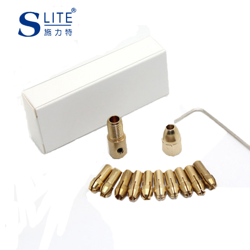Slite Small Electric Drill Self Tight Drill Chuck 2MM Electric Drill Bit Small Electric Mill Wood Working Huang Tong Dremel